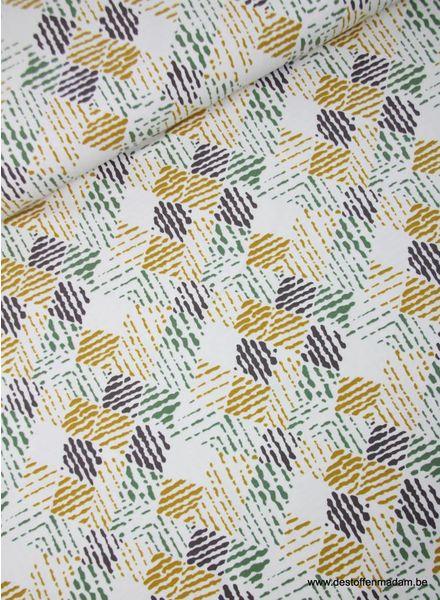 gekleurde ruiten - tricot