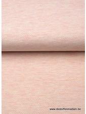 pink - interlock jacquard