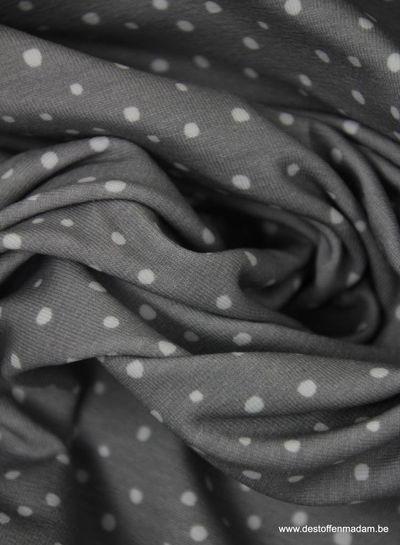 grijs snowflakes - tricot
