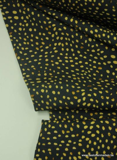 gold dots mini winter -  tricot