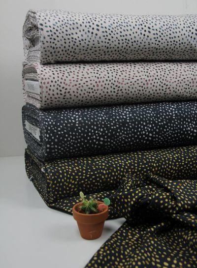 lila creme dots mini winter - tricot