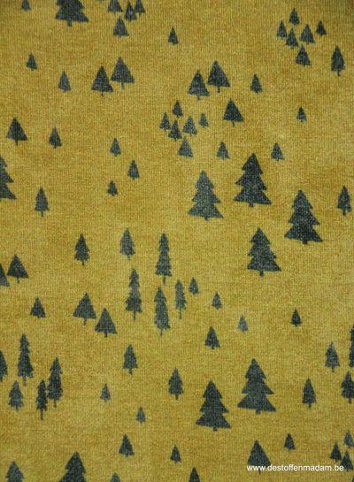 trees ochre - jersey S