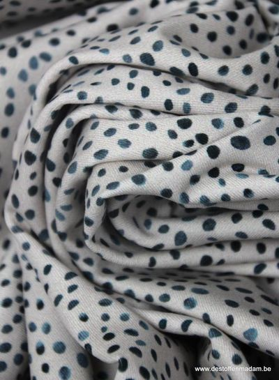 creme dots mini winter -  tricot S