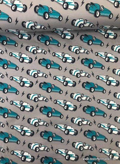 cars grijs - tricot