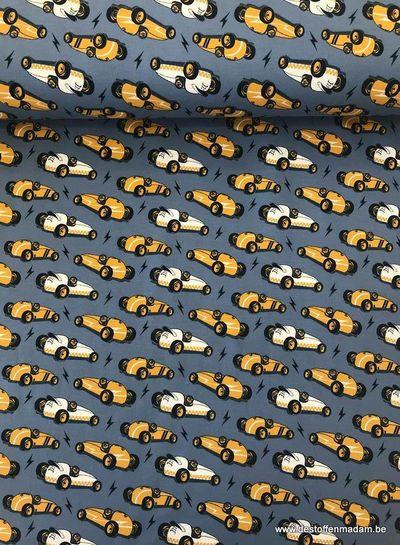 cars blauw -  tricot