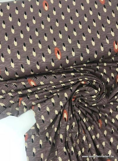 lila millie - viscose tricot  S