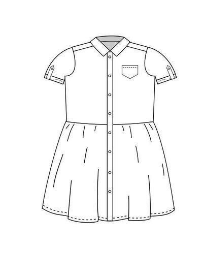 Ume shirtdress 1-12 years 9/12 LIER