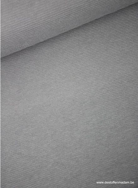 lichtgrijs - structuur tricot