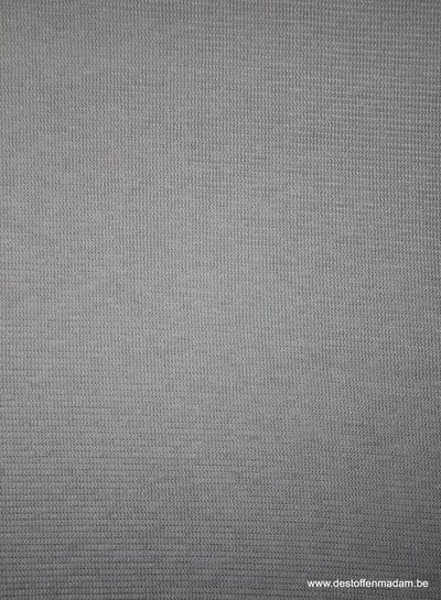 light grey - textured knit