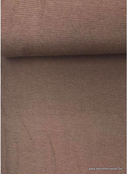 bruin - structuur tricot S