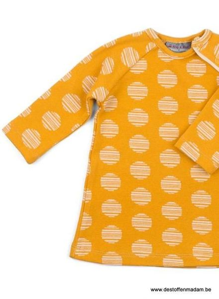 F&D - circle dots cotton jacquard