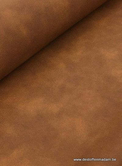 79f5eb5b009f cognac faux leather for bags - Madeline De Stoffenmadam