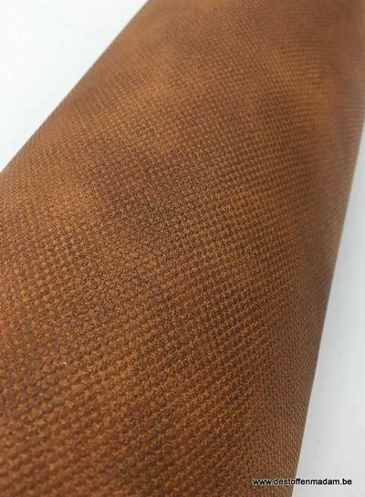 cognac faux leather for bags
