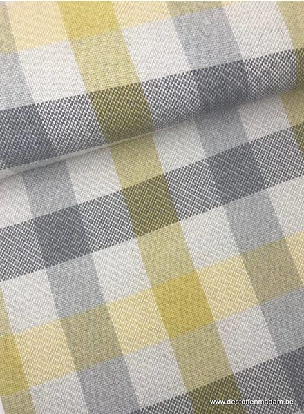 LMV - checks - geweven jacquard