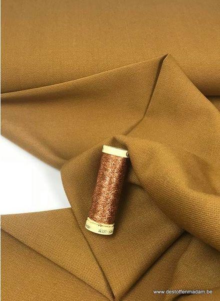 LMV kate skirt - ochre wool polyester