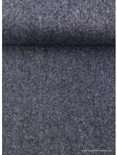 kobalt melee - thin woolen fabric