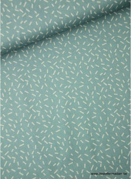 sprinkle licht blue - cotton S