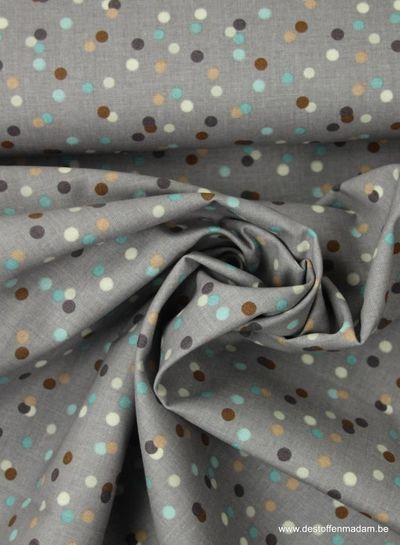 confetti paars - katoen