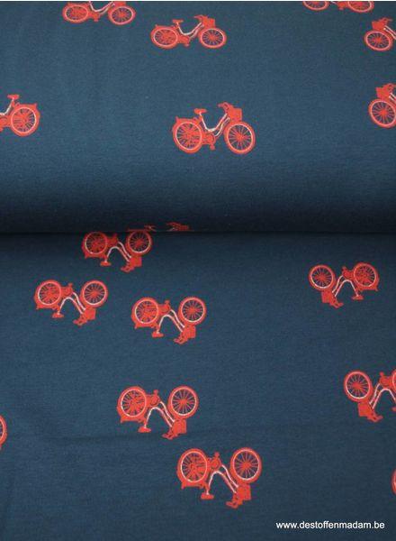 bikes navy - sweat
