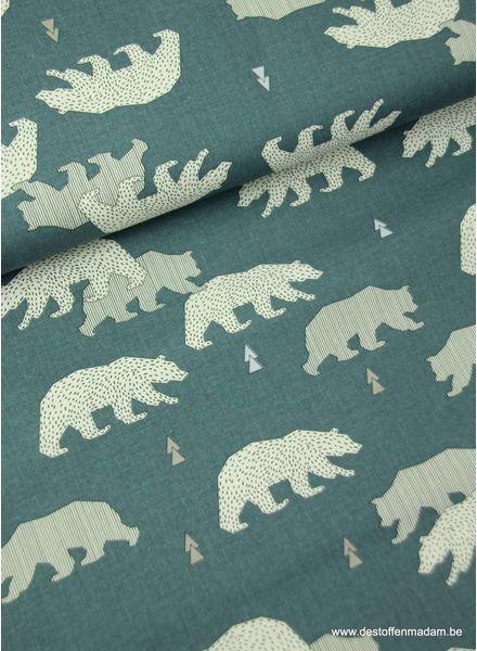 polar bear - sturdy cotton