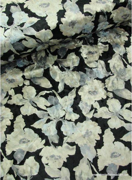 zwarte bloem - velvet S