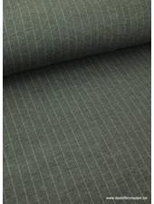 krijtstreep grijs -  gebreide viscose tricot S