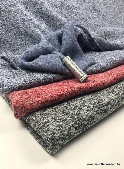 grijs -  dikke gebreide sweater