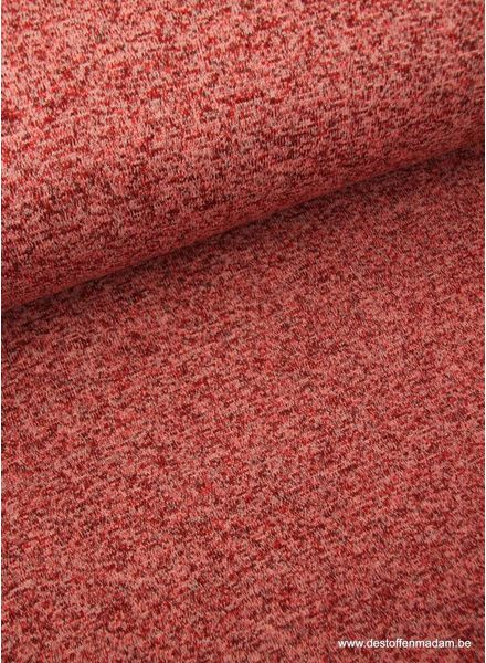 cherry - thick knitted sweat fabric