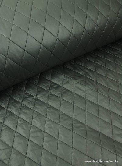 grijze gemattelasseerde jassenstof