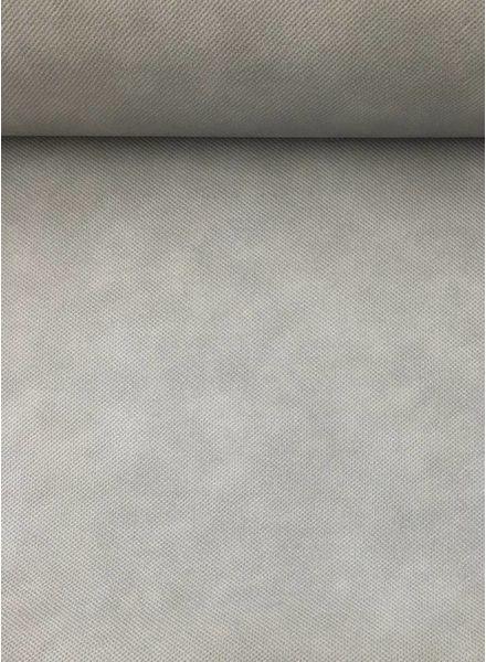 grijs kunstleer voor tassen