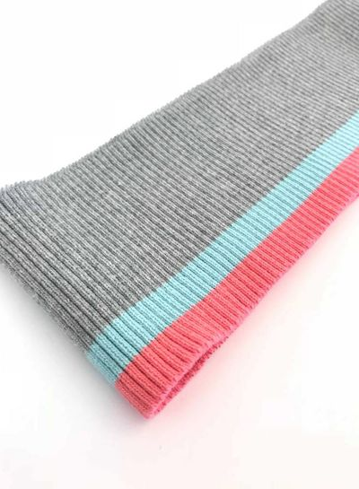 thin stripes mint/pink - ribbing