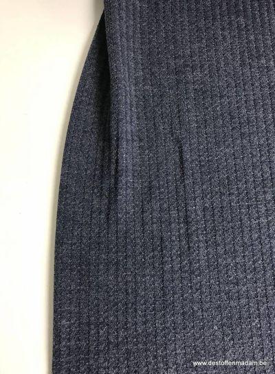 blauw - jacquard jersey