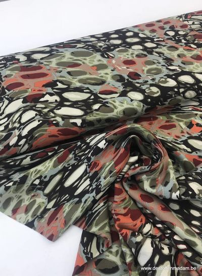 multicolor - viscose twill S