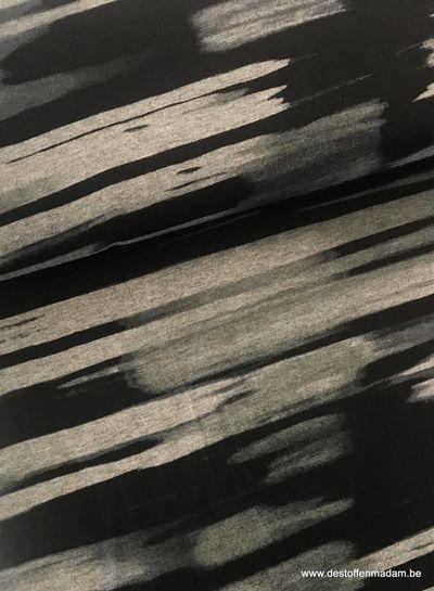 Marcel stripes - viscose jersey S