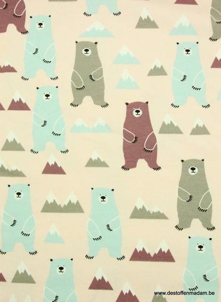bears pink - sweat