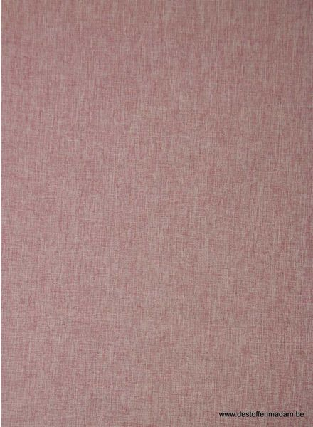 melange softshell - old pink