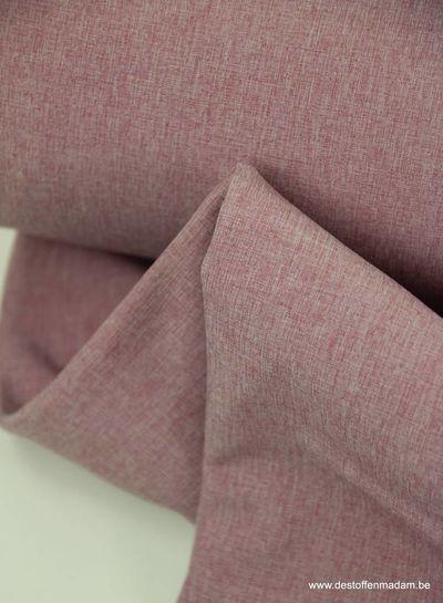melange softshell - old pink