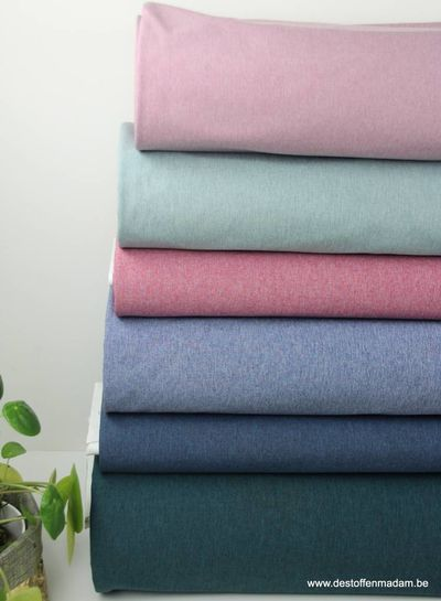melange softshell - dusty mint