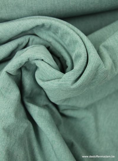melange softshell - dusty mint