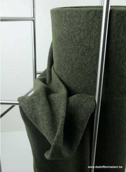 Ronja khaki - coat fabric