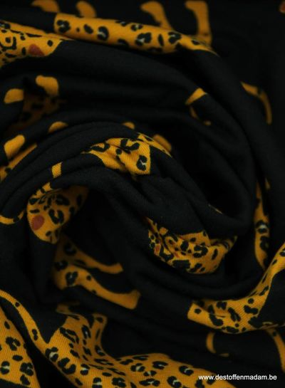 cheetah black - jersey