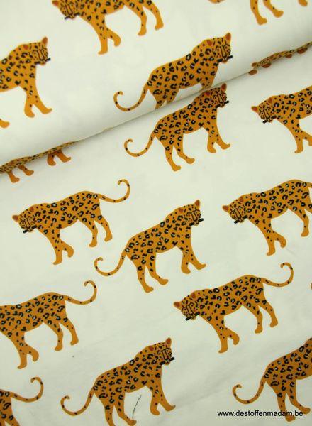 cheetah ecru - tricot