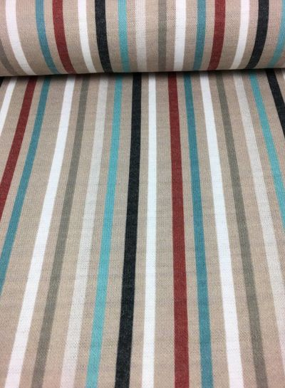 knit viscose with vertical stripes (marsala) - TOP quality