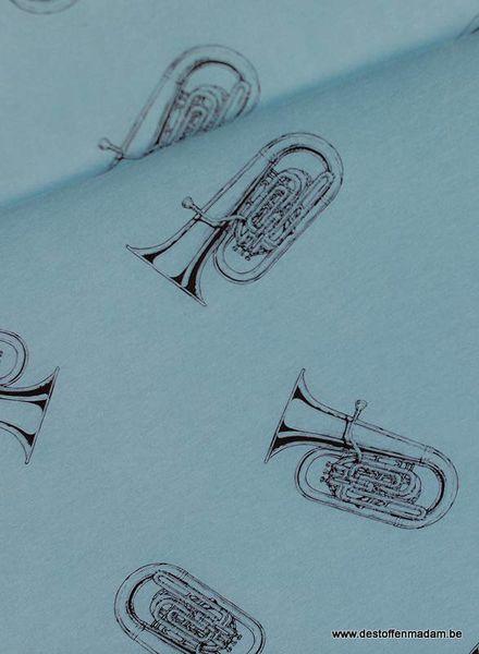 Tubas - M - French Terry - Citadel Blue
