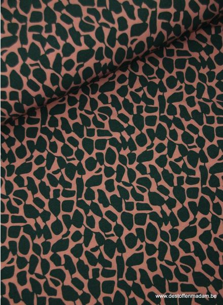 stones lila - supple stretch ladies fabric