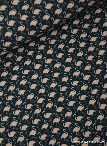 flamingo - scuba crêpe