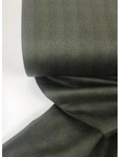 khaki herringbone look - suede scuba