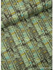 mint gekleurde blokjes - tricot