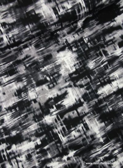 grey graphique print - viscose jersey
