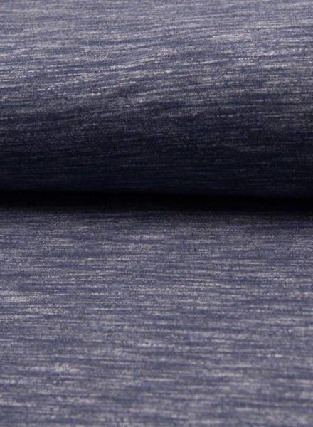 denimblauw melange - sweater